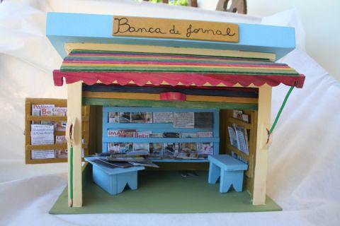 Miniaturas e objetos de decoracao